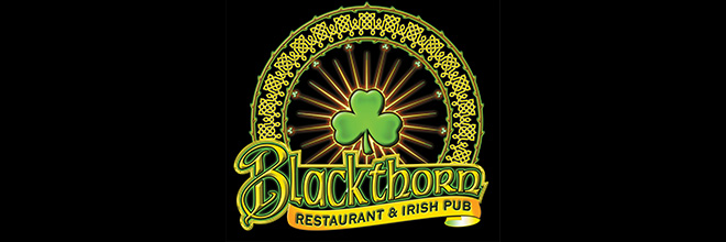 Dine at The Blackthorn Irish Restaurant and Pub Nov 9 -15