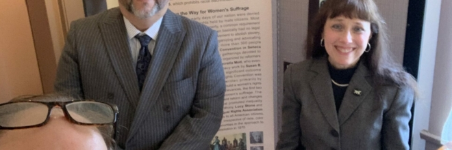 '100 Years and More of Votes for Women' Exhibition Unveiled at Nitschke House